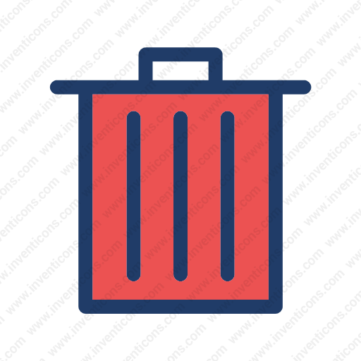 Download Bin,trash Icon Inventicons
