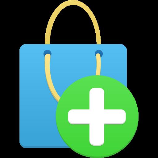 Add Item Icon Flatastic Iconset Custom Icon Design