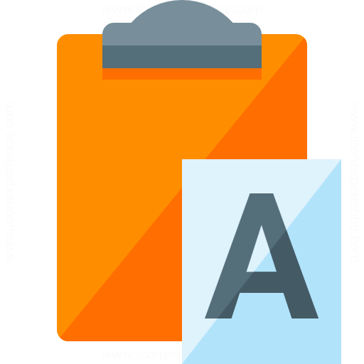 Iconexperience G Collection Clipboard Paste No Format Icon
