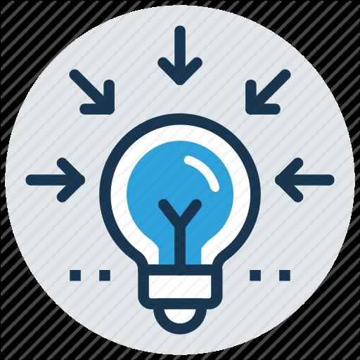 Bright Idea, Concentration, Creativity, Imagination, Inspiration Icon