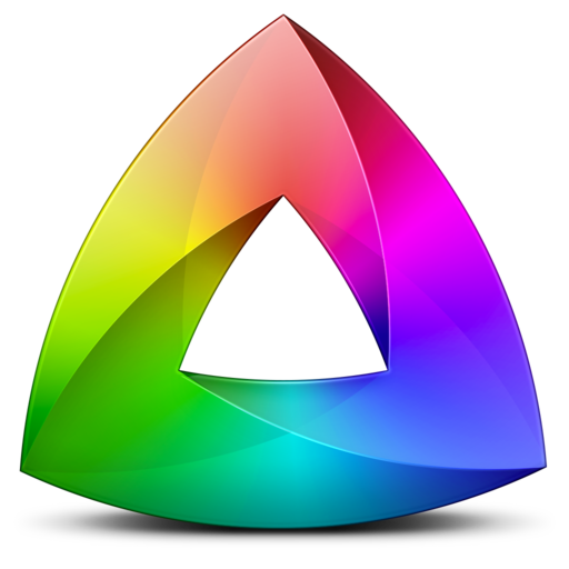 Mobile Design Inspiration Kaleidoscope Icon