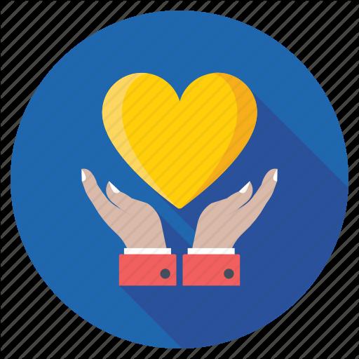 Heart Care, Inspire, Love, Passion, Valentine Icon