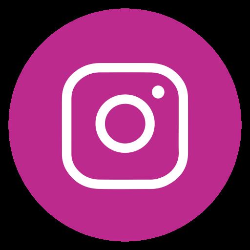 Circle, Instagram, Outline, Social Media Icon