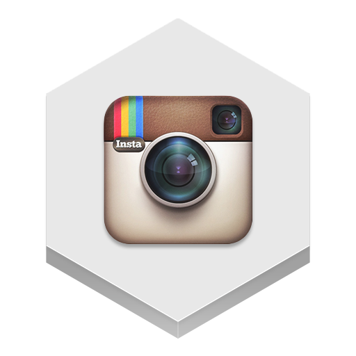 Instagram Icon Hex Iconset
