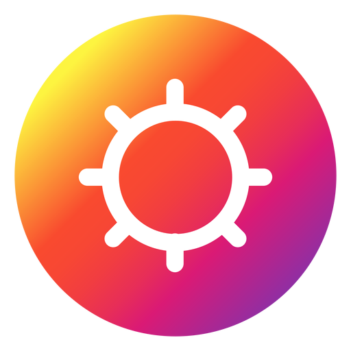 Instagram Settings Button