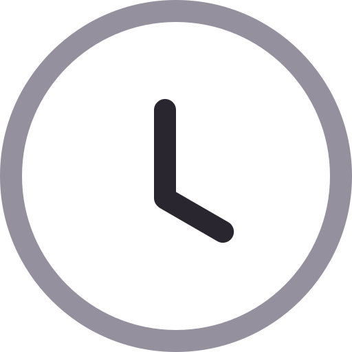 Time, Clock Icon Free Of Icons Duetone
