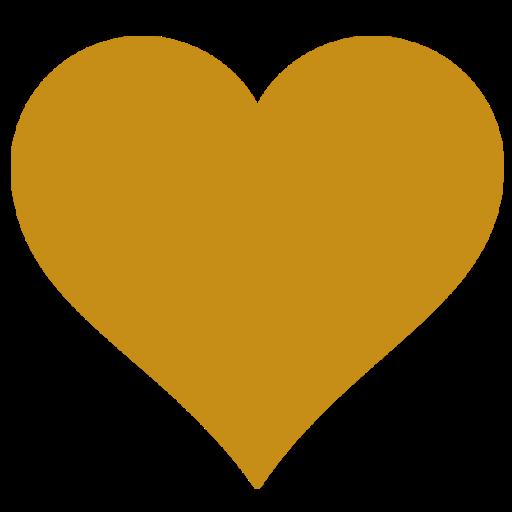 Gold Heart Favicon