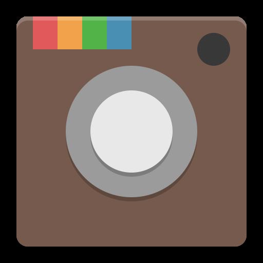 Instagram Icon Papirus Apps Iconset Papirus Development Team