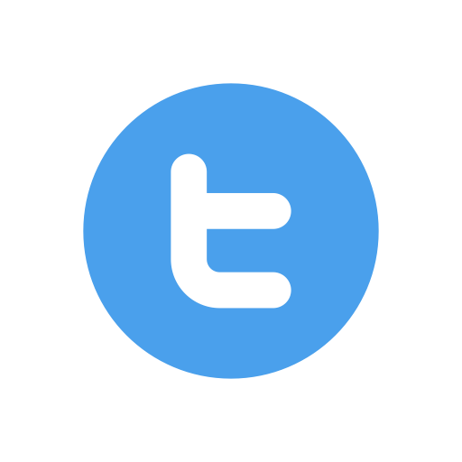 Simple Twitter Icon Png