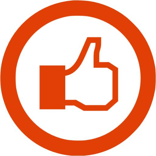 Soylent Red Facebook Like Icon