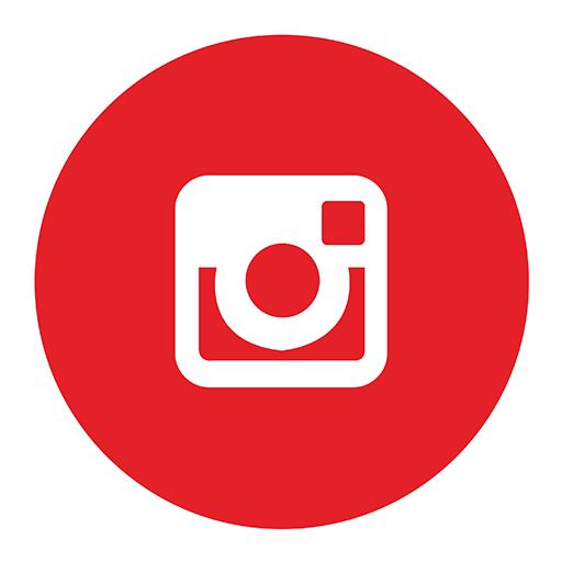 Red Instagram Transparent Logo Png Images