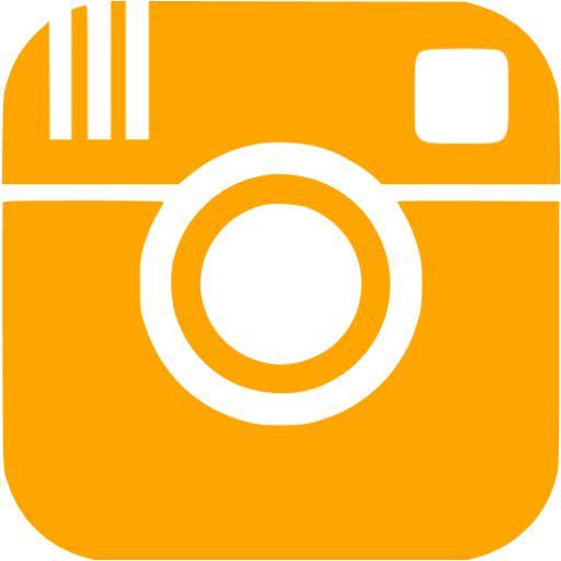 Orange Instagram Icon