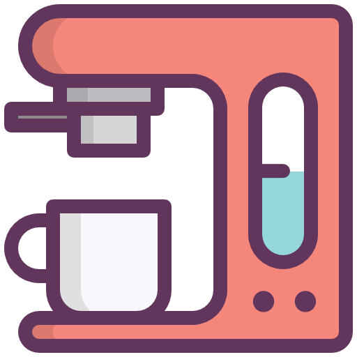 Coffee Machine, Coffee Maker, Kitchen, Restarurante Icon Free