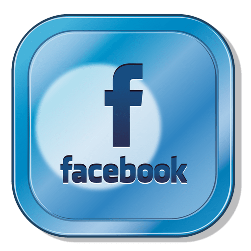 Facebook Square Icon Blue