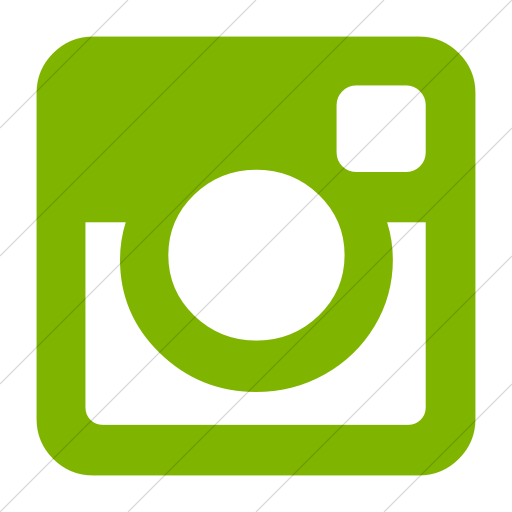 Simple Green Bootstrap Font Awesome Brands Instagram Icon