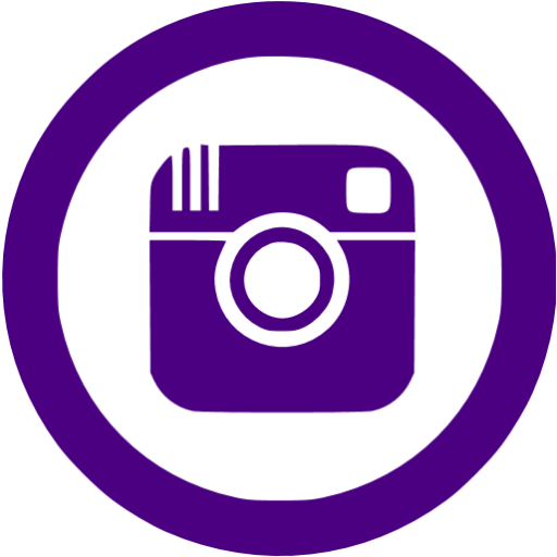 Indigo Instagram Icon