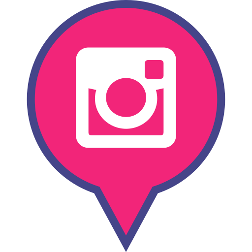 Social, Media, Pin, Logo, Instagram Icon Free Of Social Media