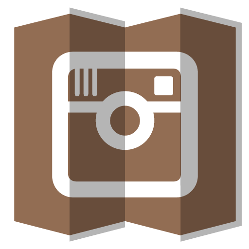 Instagram Icon Folded Social Media Iconset Designbolts