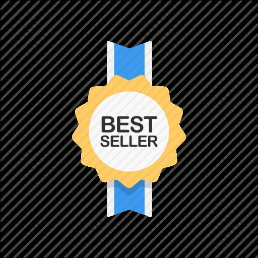 Best Seller, Favorite, Reward, Ribbon Icon