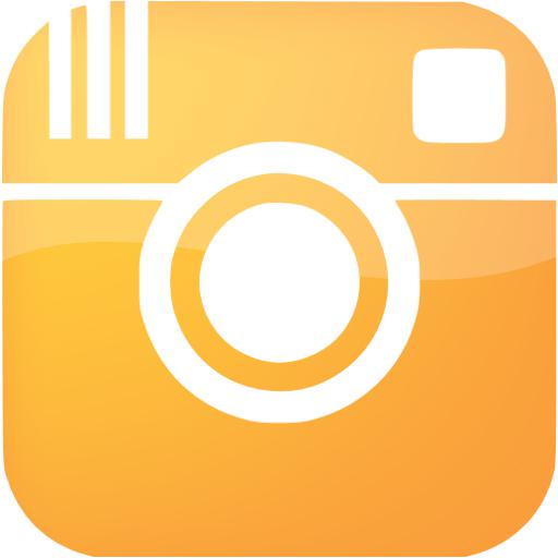 Web Orange Instagram Icon