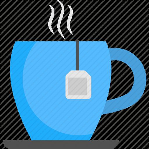Cup Of Tea, Hot Tea, Instant Tea, Tea, Tea With Teabag Icon