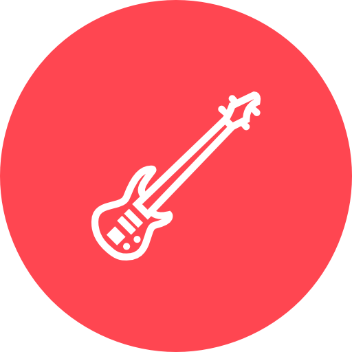 Bass, Guitar, Musical, Instrument Icon Free Of Musical Instruments