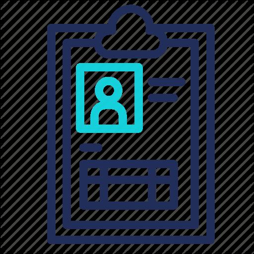 Data, Document, Insurance, Profile, User Icon