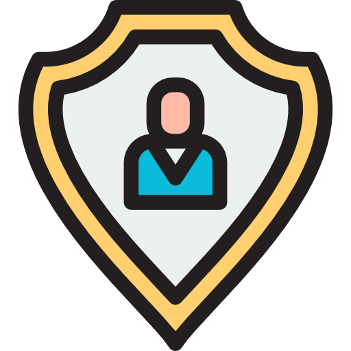 Protection, Shield, Insurance Icon