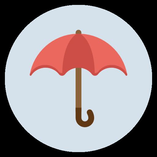 Umbrella, Secutiry, Insurance, Protection, Rain, Waterproof Icon