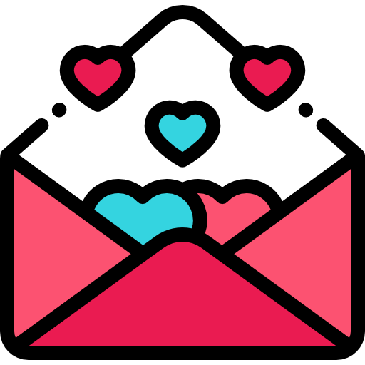 Love Letter Free Vector Icons Designed