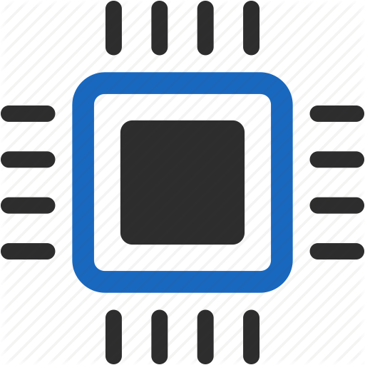 Amd, Chip, Electronics, Intel, Memory, Processor, Technology Icon