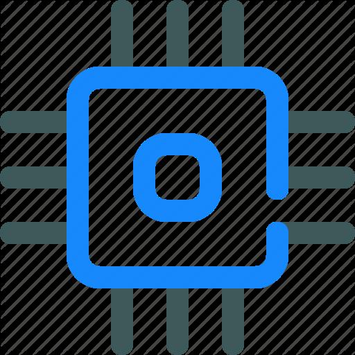 Chip, Core, Intel, Processor Icon