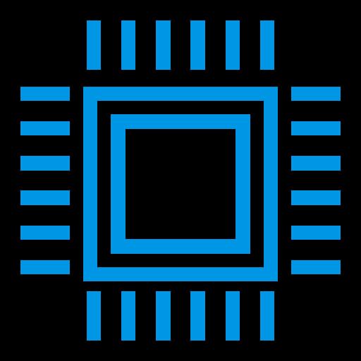 Desktop, Hardware, Processor, Cpu, Pc, Intel, Processorchip Icon
