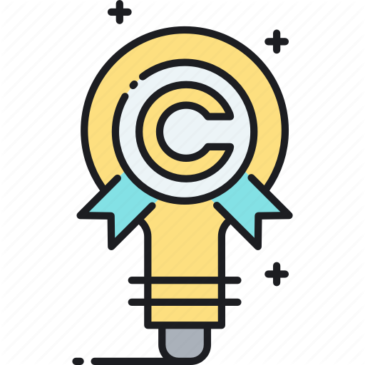 Copyright, Intellectual, Property Icon