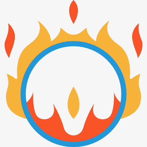 Ring Of Fire Icon Free Download, Entertainment, Circus