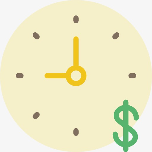 One Time Icon, Timing, Time, Cartoon Png Image And Clipart
