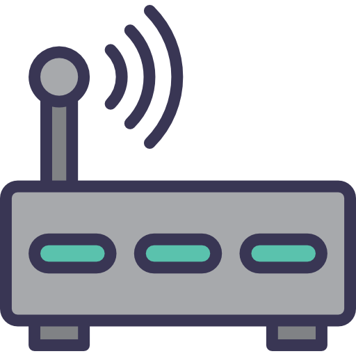 Router, Wi Fi, Technology, Wireless, Modem, Internet, Connection Icon