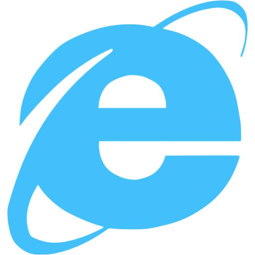 Caribbean Blue Internet Explorer Icon