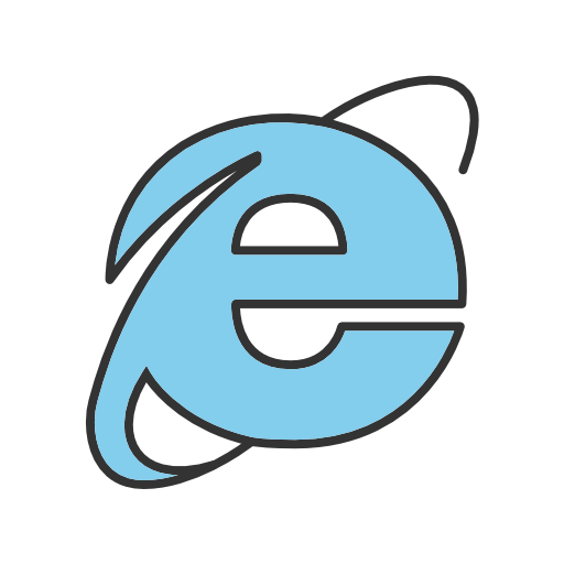 Internet, Explorer Icon Free Of Social Media Logos Ii Filled Line