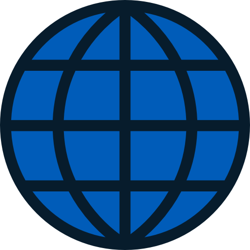 World, Earth Globe, Wireless Internet Icon