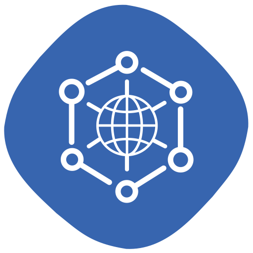 Globe, Internet, Connection, Of, Things, Internet Of Things Icon