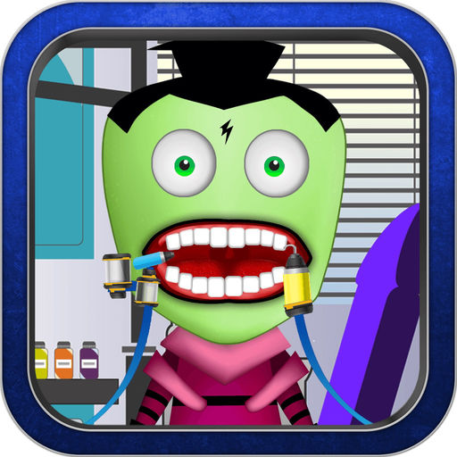 Funny Dentist Game For Kids Invader Zim Version