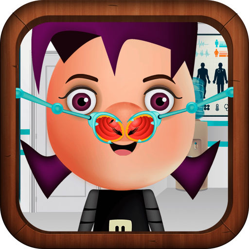 Nose Doctor Game For Kids Invader Zim Version