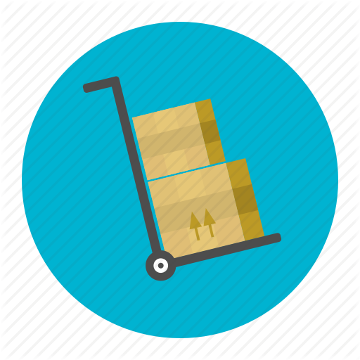 Box, Delivery, Inventory, Shipping, Shopping, Trolley, Warehouse Icon