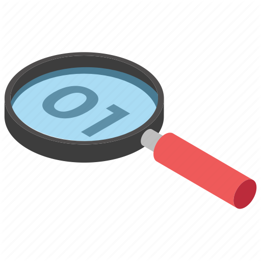 Binary Code Search, Code Searching, Code With Magnifier, Data