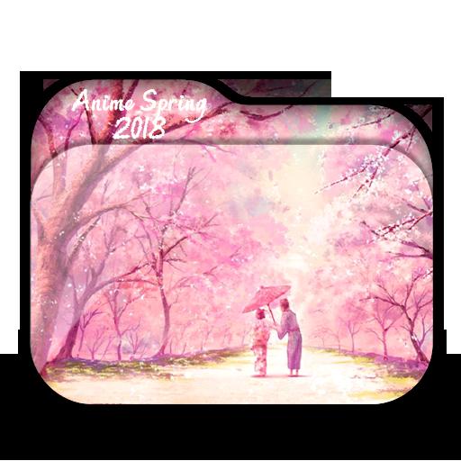 Anime Spring Folder Icon Pack