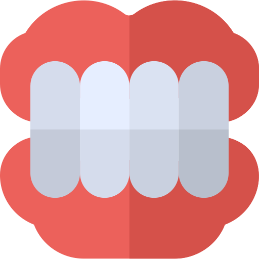 Invisible Denture, Medical, Teeth Icon With Png And Vector Format