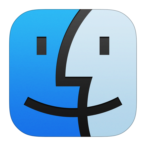 Finder Icon Style Iconset Iynque