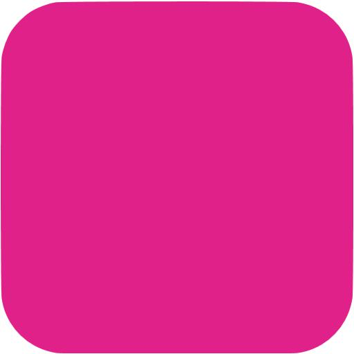 Barbie Pink Square Ios App Icon
