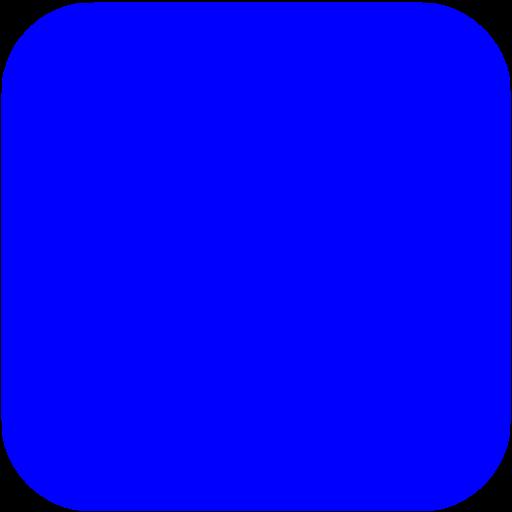 Blue Square Ios App Icon
